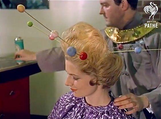Space Age Hair Fashions (British Pate, 1960s) 10420310