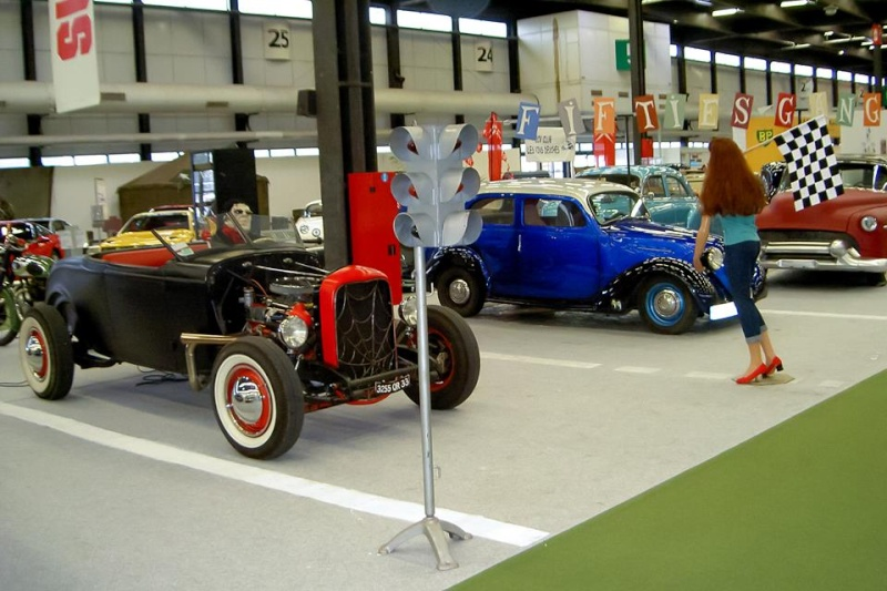Salon auto moto collection - 2003 - stand fifties gang 10429413
