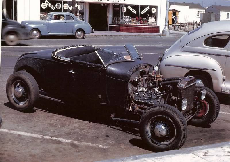 "Hot rod in street - Vintage pics - ""Photos rétros"" -  - Page 4 10511010"