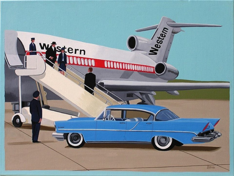 Mid Century Modern Retro Paintings by LTillmanArt 10610910