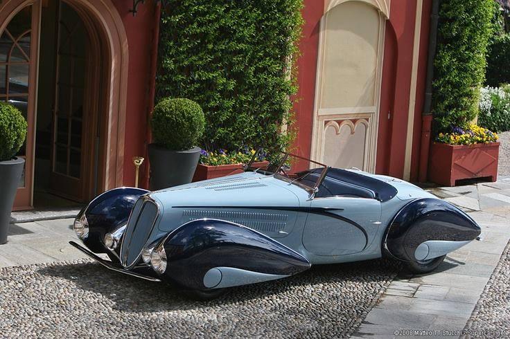 1937 Delahaye Figoni et Falaschi Torpedo Cabriolet 10613010