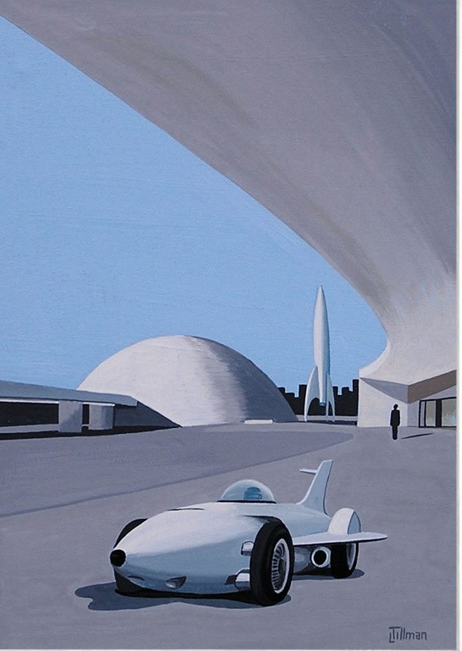 Mid Century Modern Retro Paintings by LTillmanArt 10685412