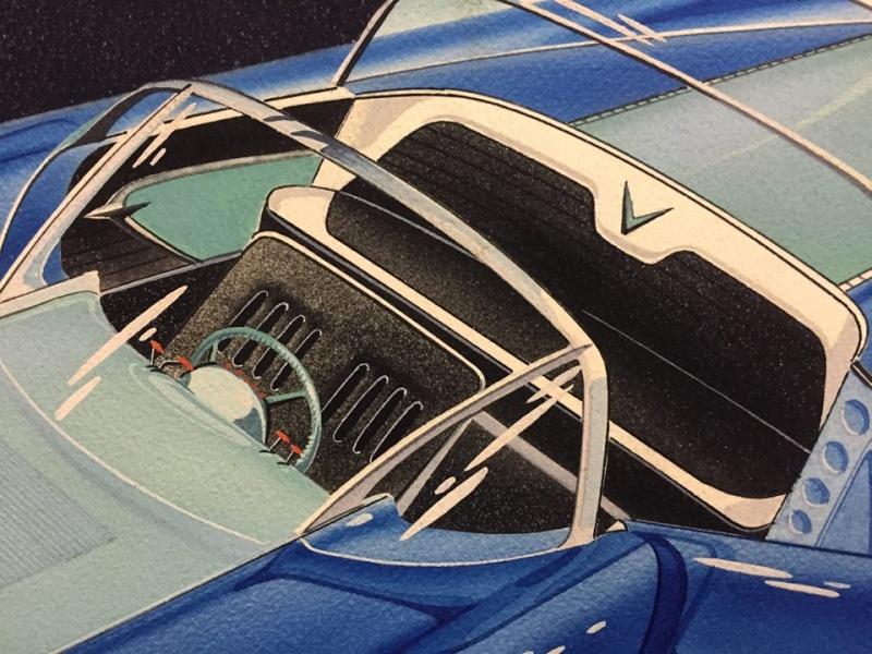 Prototype, maquette et exercice de style - concept car & style 10846311