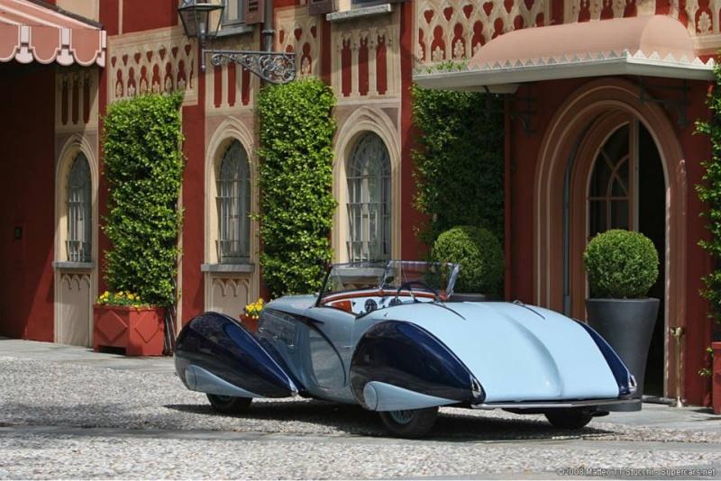 1937 Delahaye Figoni et Falaschi Torpedo Cabriolet 10847910