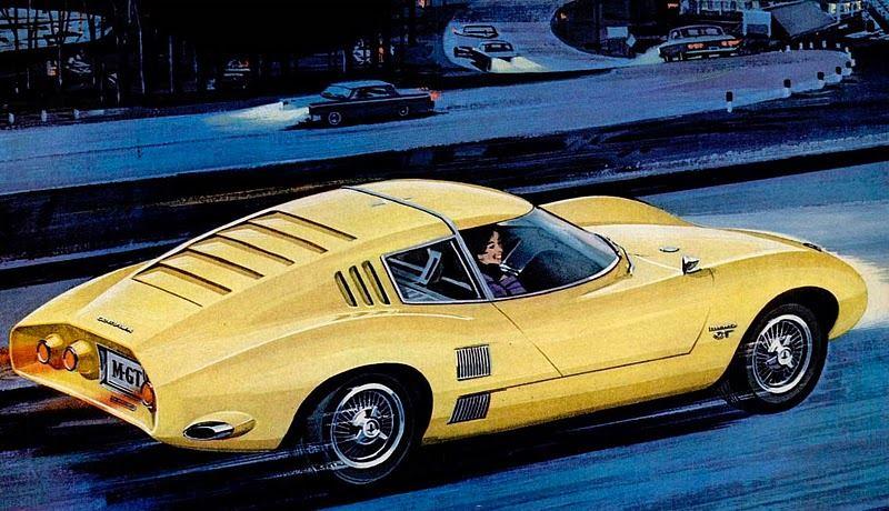 1962 Chevrolet Corvair Monza GT Concept 10888611
