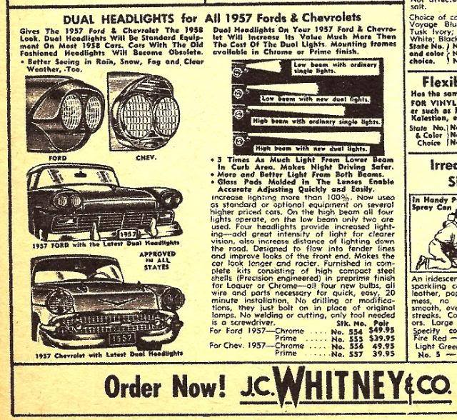 Les Incontournables accessoires pour nos anciennes - hot rod, custom and classic accessories and parts - Page 4 10891514