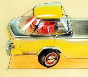 Prototype, maquette et exercice de style - concept car & style 10898110