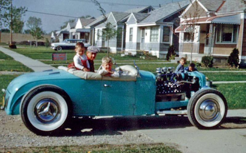 "Hot rod in street - Vintage pics - ""Photos rétros"" -  - Page 4 10906515"