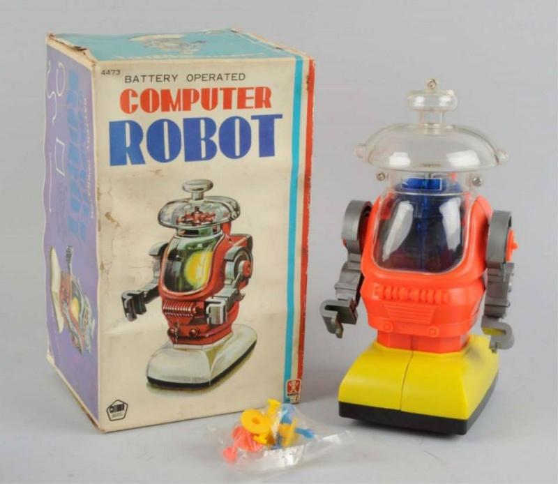 Robots jouets vintages - vintage robot toys 10959516