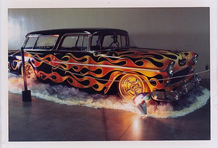 Howard Gribble - photographer and a lowrider and custom car historian from Torrance, California 10984111