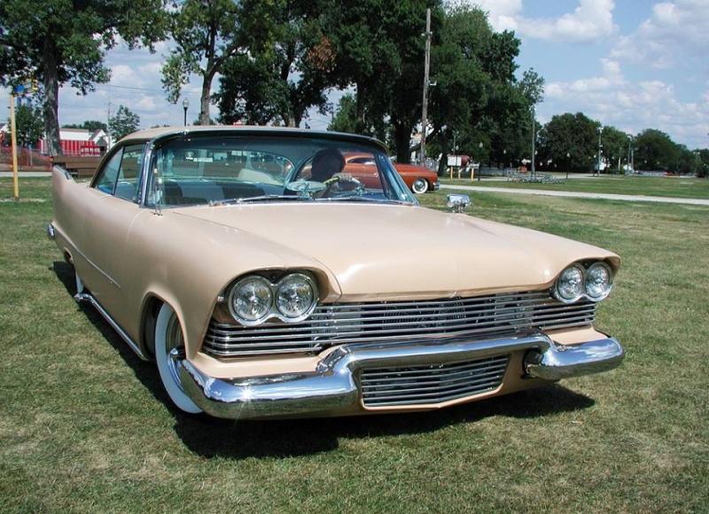 Plymouth  1957 - 1958 custom & mild custom - Page 2 10993416