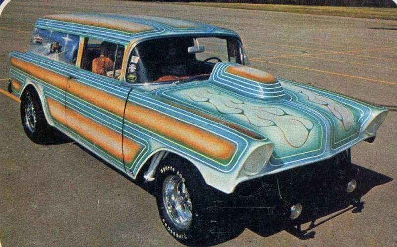 1956 Chevy Gasser 11005510