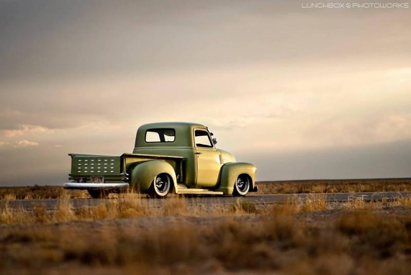 Chevy Pick up 1947 - 1954 custom & mild custom - Page 4 11017010