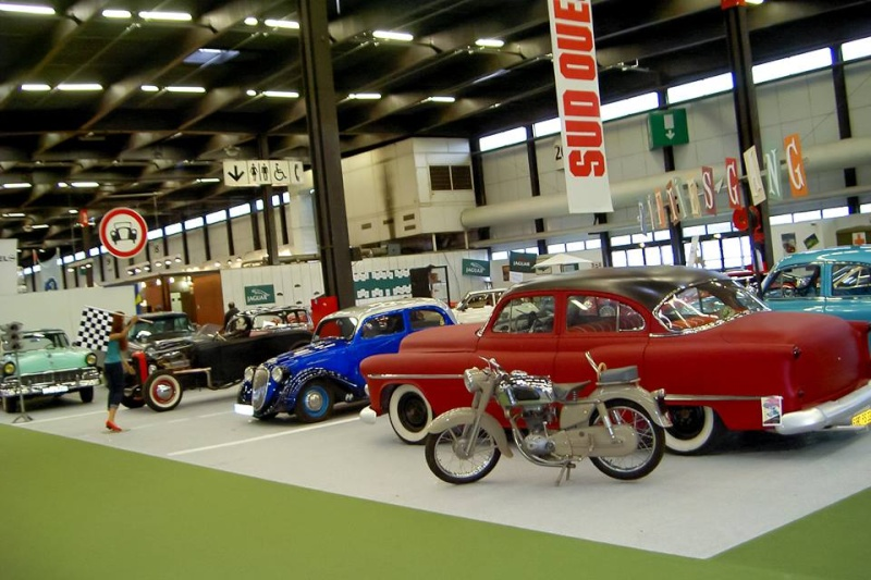 Salon auto moto collection - 2003 - stand fifties gang 11034210