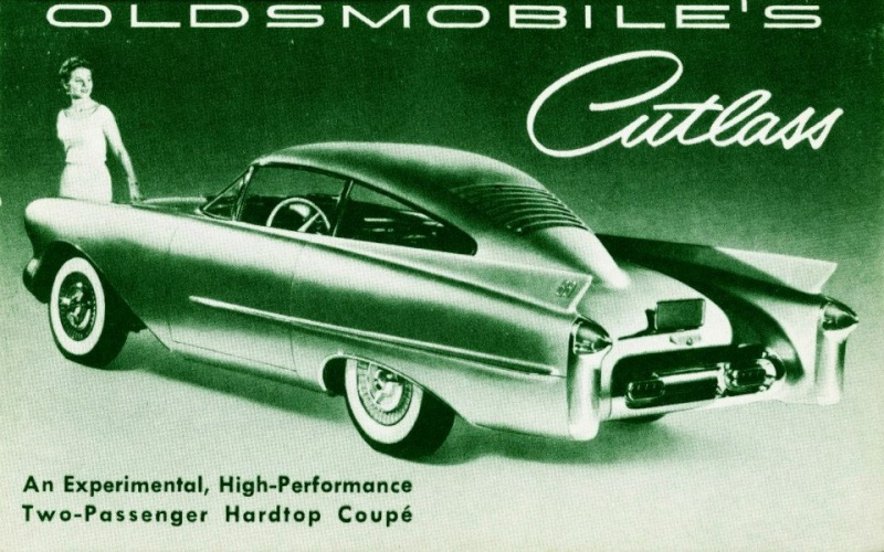 Oldsmobile Cutlass Experimental Car, 1954 15053510