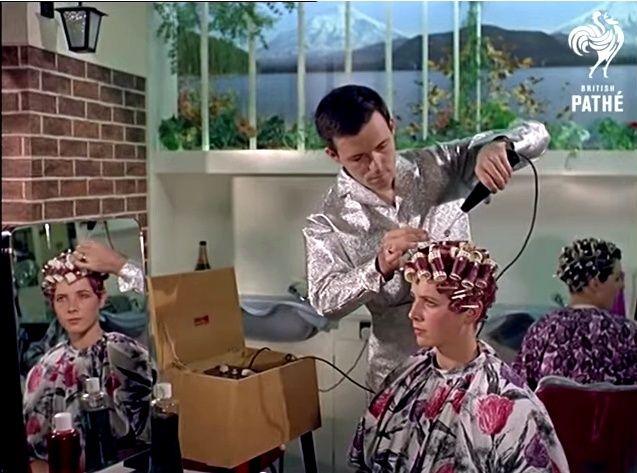 Space Age Hair Fashions (British Pate, 1960s) 15067810