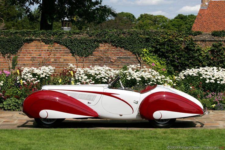 1937 Delahaye Figoni et Falaschi Torpedo Cabriolet 15107410