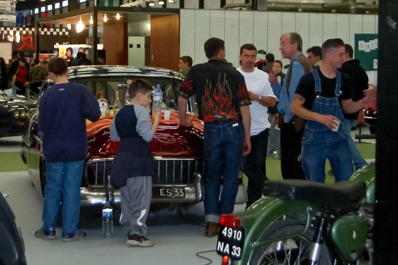 Salon auto moto collection - 2003 - stand fifties gang 15108611