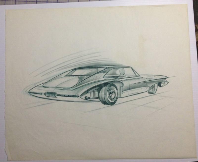 Prototype, maquette et exercice de style - concept car & style 18909810