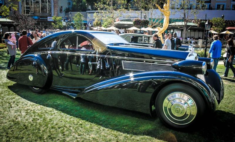 Rolls Royce Phantom I Aerodynamic Coupe by Jonckheere - 1924 1925-r10