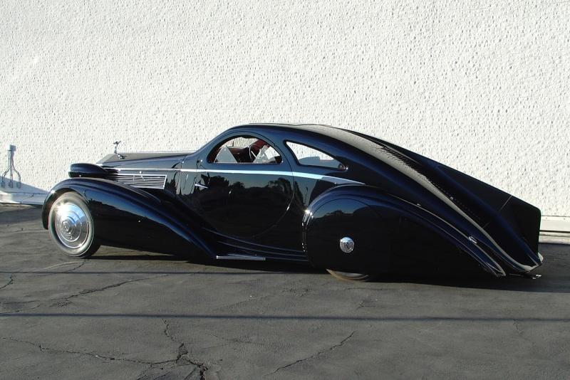 Rolls Royce Phantom I Aerodynamic Coupe by Jonckheere - 1924 1925_r10