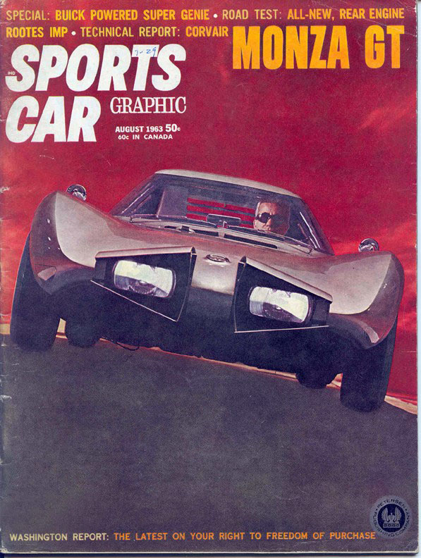 1962 Chevrolet Corvair Monza GT Concept 1963_c10