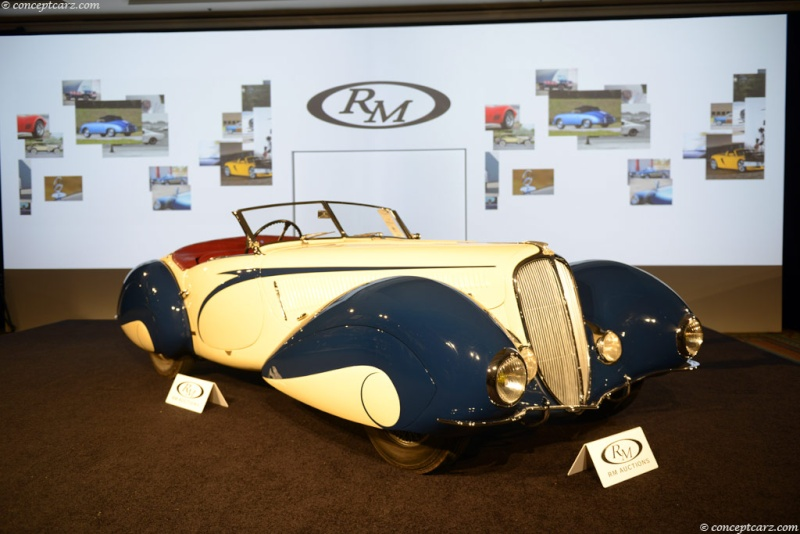 1937 Delahaye Figoni et Falaschi Torpedo Cabriolet 37-del11