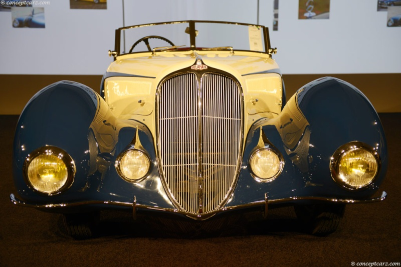 1937 Delahaye Figoni et Falaschi Torpedo Cabriolet 37-del13