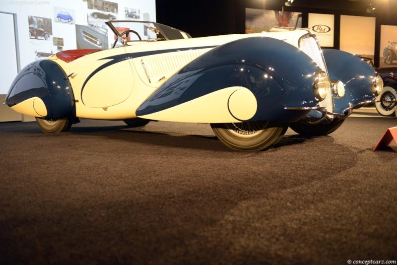 1937 Delahaye Figoni et Falaschi Torpedo Cabriolet 37-del14