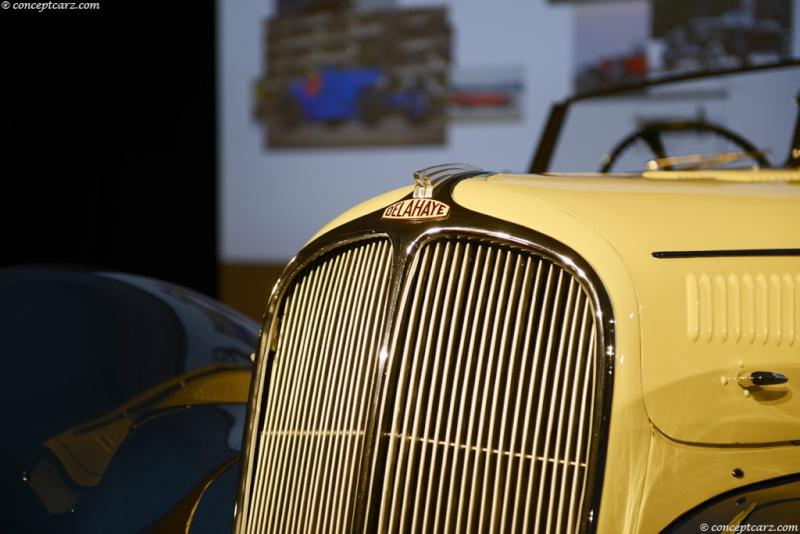 1937 Delahaye Figoni et Falaschi Torpedo Cabriolet 37-del21