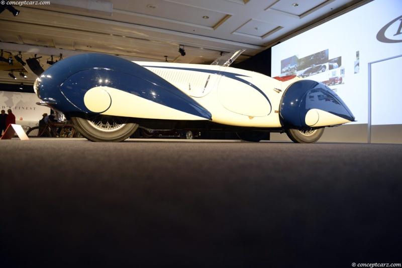1937 Delahaye Figoni et Falaschi Torpedo Cabriolet 37-del22