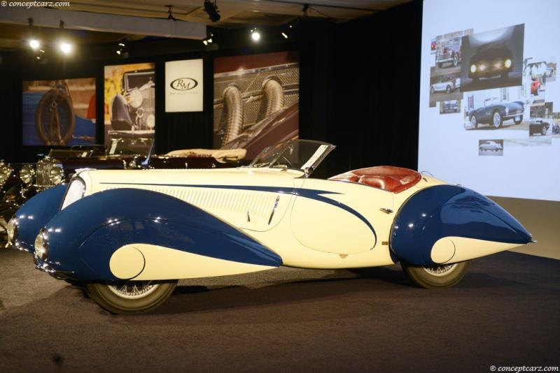 1937 Delahaye Figoni et Falaschi Torpedo Cabriolet 37-del24