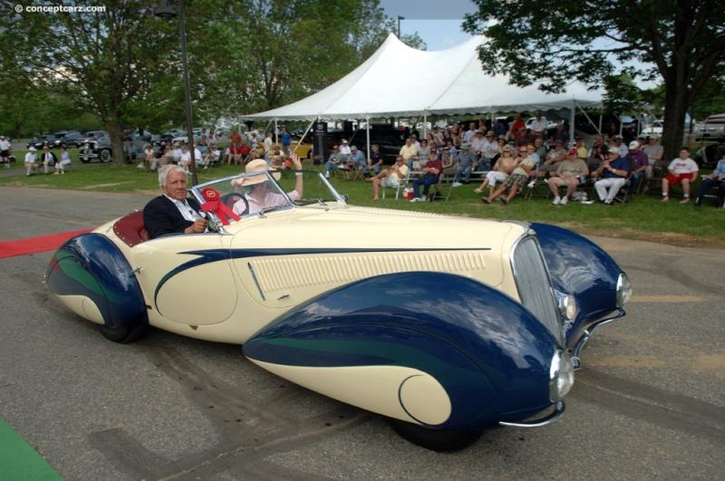 1937 Delahaye Figoni et Falaschi Torpedo Cabriolet 37-del30