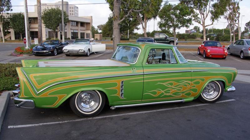 Chrysler & DeSoto 1955 - 1956 custom & mild custom 383