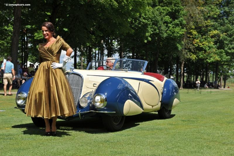1937 Delahaye Figoni et Falaschi Torpedo Cabriolet 39-del14
