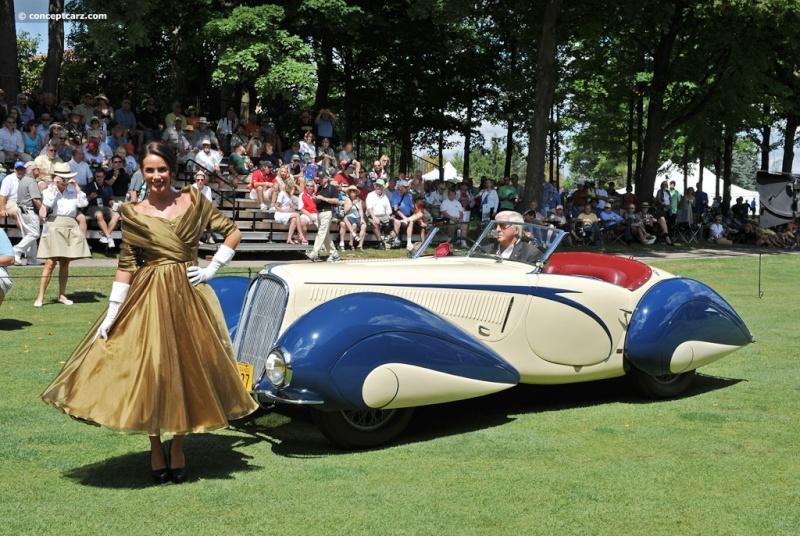 1937 Delahaye Figoni et Falaschi Torpedo Cabriolet 39-del16