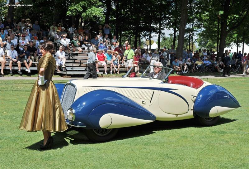 1937 Delahaye Figoni et Falaschi Torpedo Cabriolet 39-del17