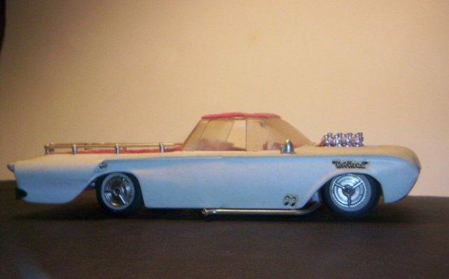 Vintage built automobile model kit survivor - Hot rod et Custom car maquettes montées anciennes 40705211