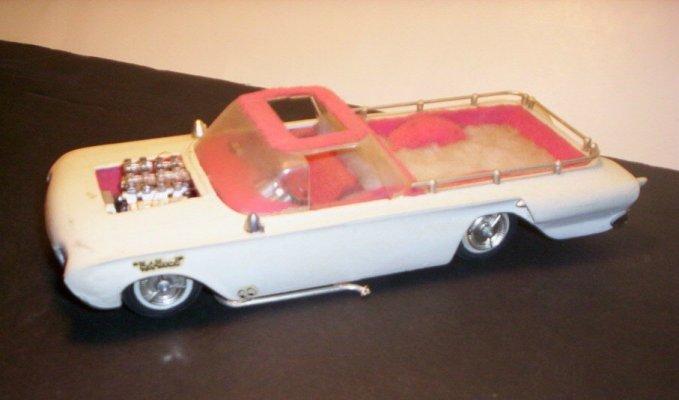 Vintage built automobile model kit survivor - Hot rod et Custom car maquettes montées anciennes 40705212