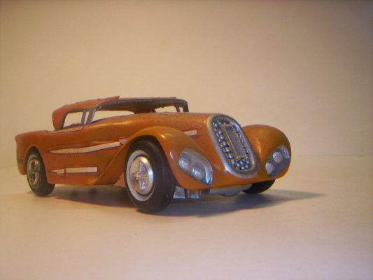 Vintage built automobile model kit survivor - Hot rod et Custom car maquettes montées anciennes 40706216