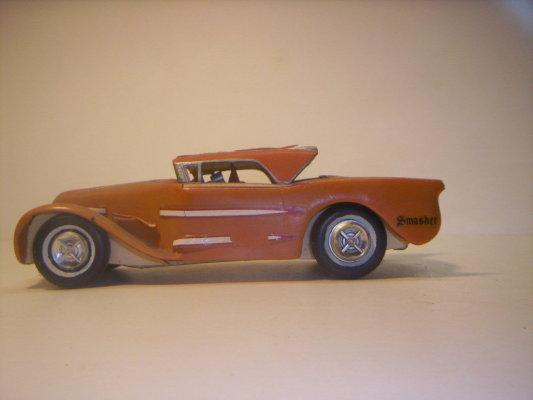 Vintage built automobile model kit survivor - Hot rod et Custom car maquettes montées anciennes 40706218