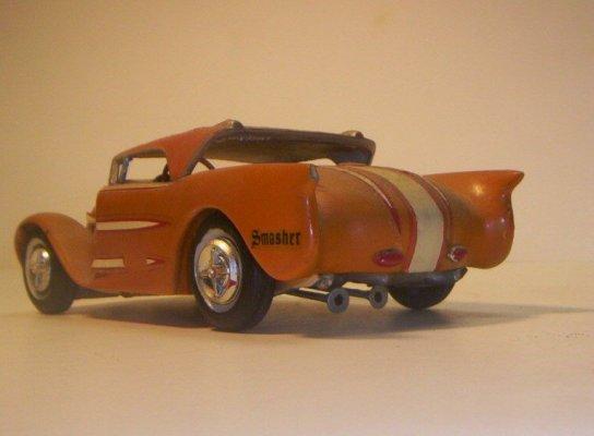 Vintage built automobile model kit survivor - Hot rod et Custom car maquettes montées anciennes 40706219