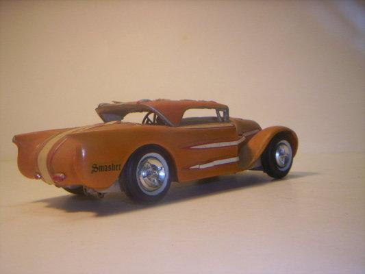 Vintage built automobile model kit survivor - Hot rod et Custom car maquettes montées anciennes 40706220