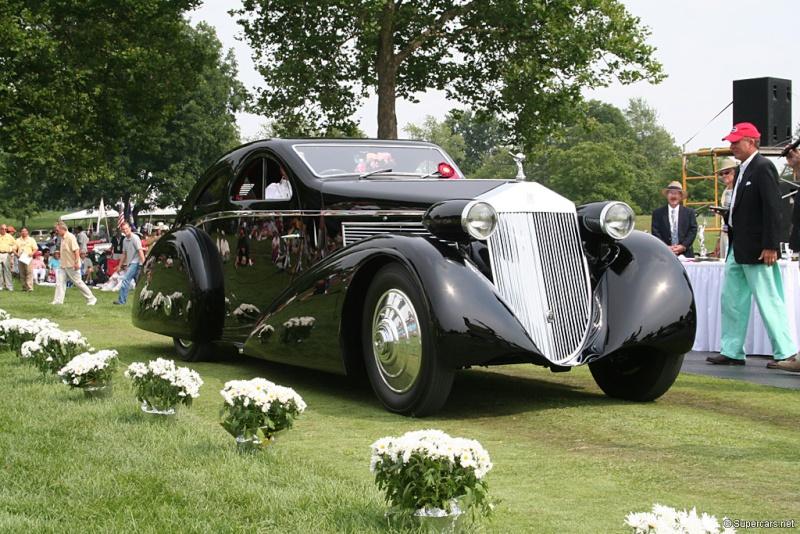 Rolls Royce Phantom I Aerodynamic Coupe by Jonckheere - 1924 40771210