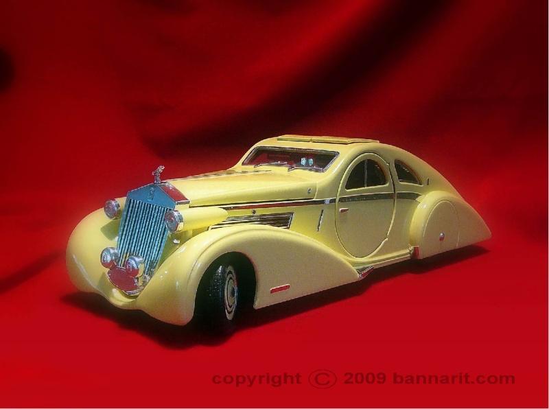 Rolls Royce Phantom I Aerodynamic Coupe by Jonckheere - 1924 4256d610