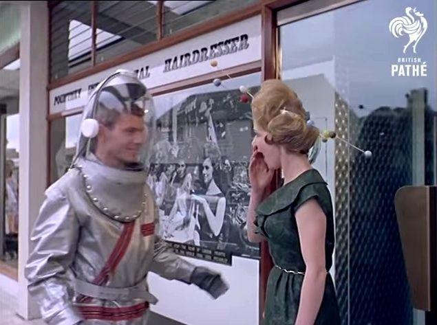 Space Age Hair Fashions (British Pate, 1960s) 55963310