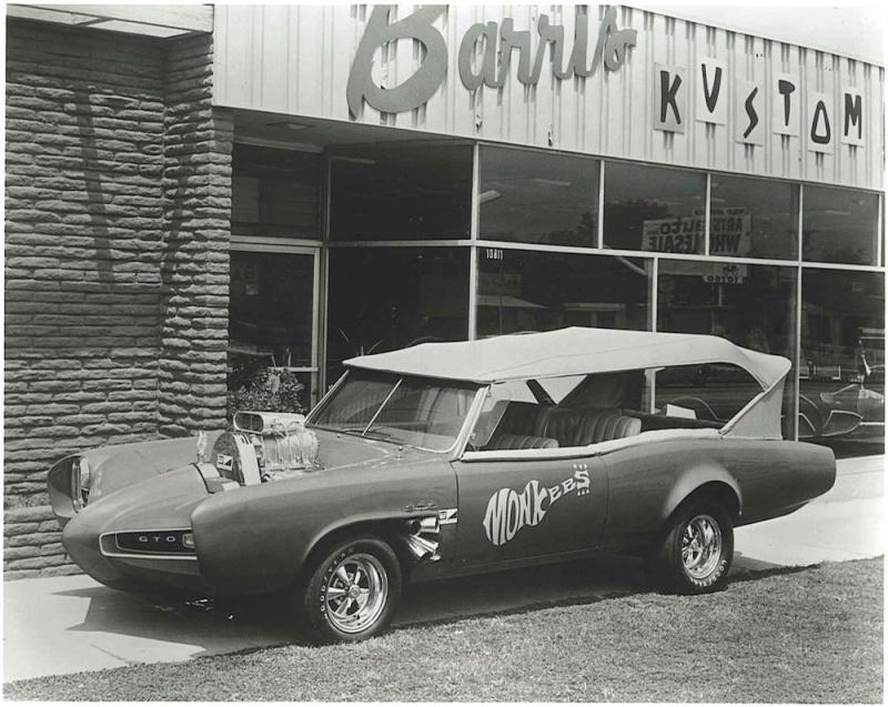 """1966 PONTIAC GTO """"MONKEEMOBILE"""" 61181_11"""