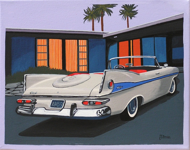Mid Century Modern Retro Paintings by LTillmanArt Il_ful10