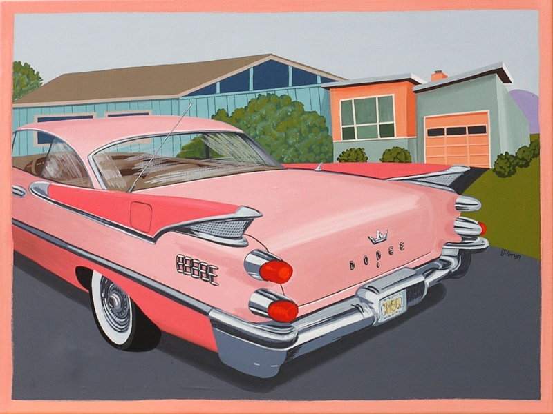 Mid Century Modern Retro Paintings by LTillmanArt Il_ful12