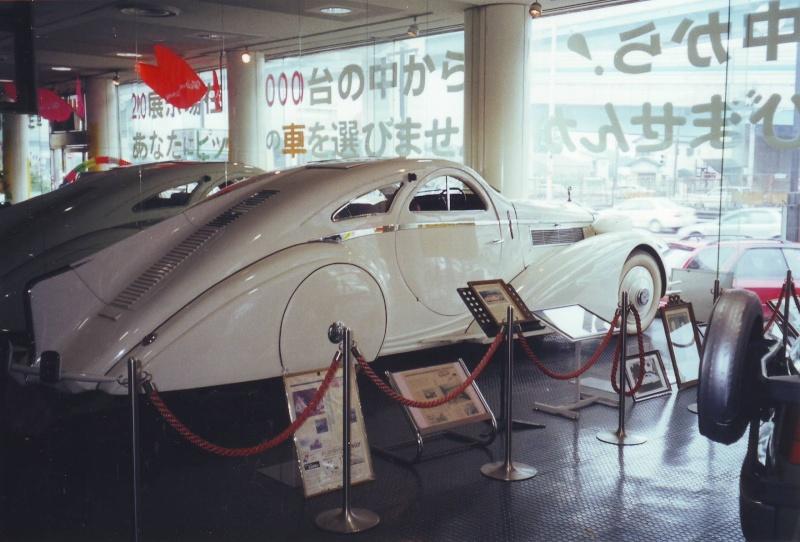 Rolls Royce Phantom I Aerodynamic Coupe by Jonckheere - 1924 Japane10